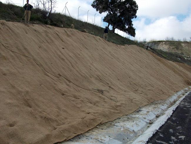 Control de la erosión de taludes