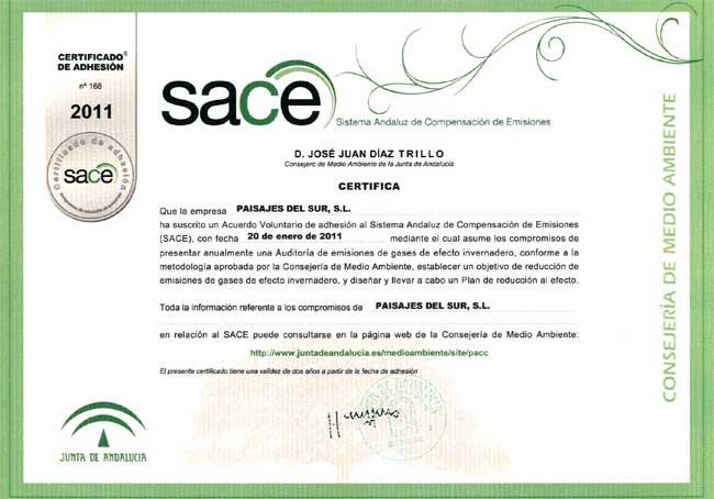 Convenio SACE