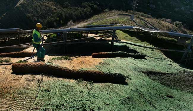 Minoración de los efectos de la erosión