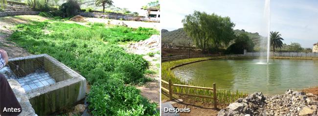 Recuperación de un espacio natural deteriorado