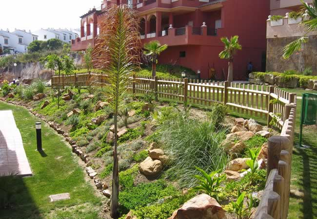 Jardines públicos optimizados